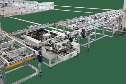 自动化封装生产线