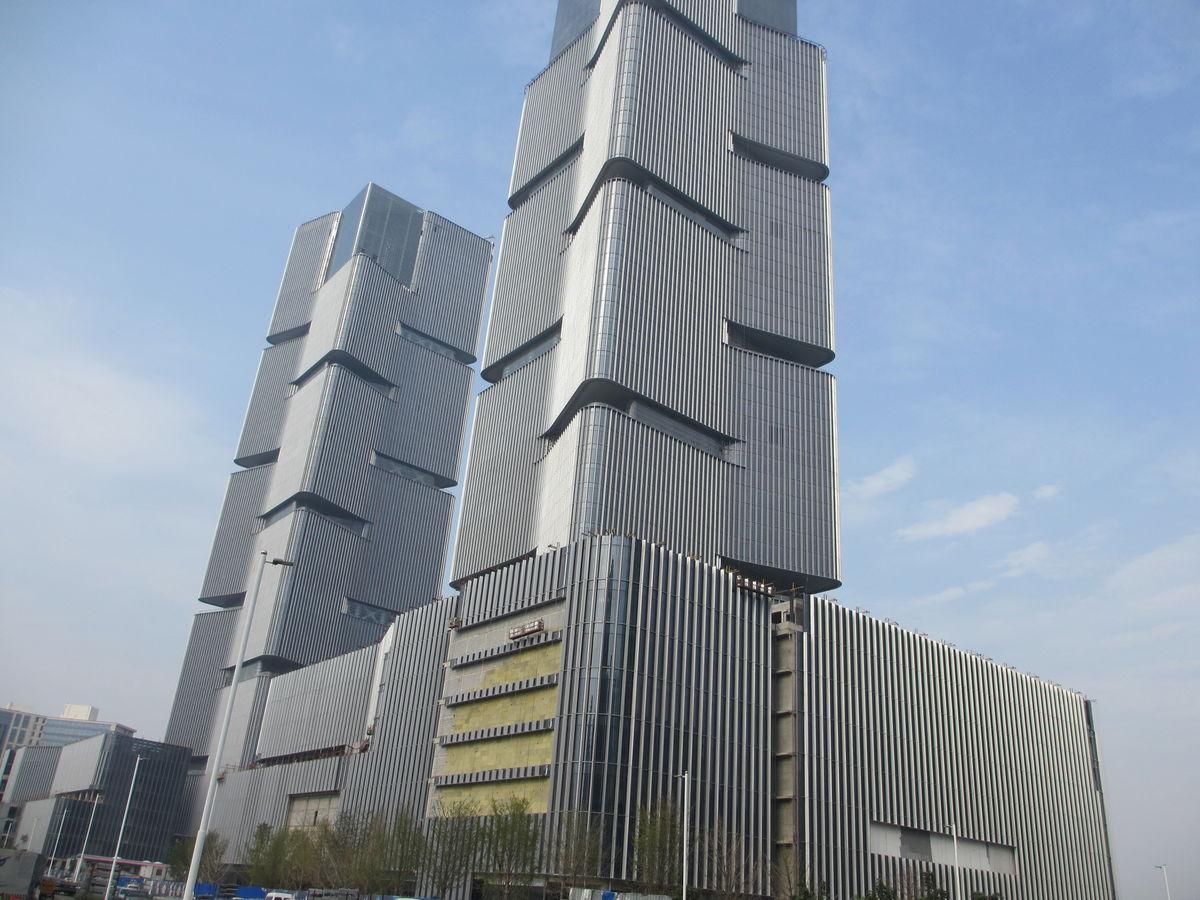 腾讯滨海大厦幕墙