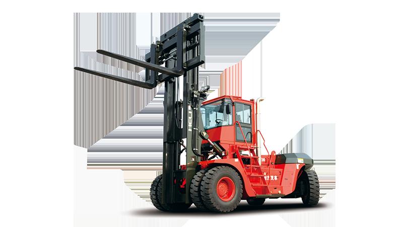 产品特点 (1)设计标准:欧洲知名港口机械设计公司设计,与欧洲同类同期产品技术水平同步,设计标准不仅满足国家标准,同时满足欧盟标准(EN1459;ISO15018),更高的安全性; (2)动力系统:采用沃尔沃动力,符合国三/欧三排放标准,动力强劲,耐候性强; (3)变速箱:采用原装进口ZF变速箱,换挡平顺高效; (4)驱动桥:原装进口Kessler重载湿式制动驱动桥,满足恶劣工况下的连续作业和用户对制动器免维护的诉求; (5)液压系统:采用美国Parker公司液压系统,高效节能;自清洁的液压冷却过滤系统的