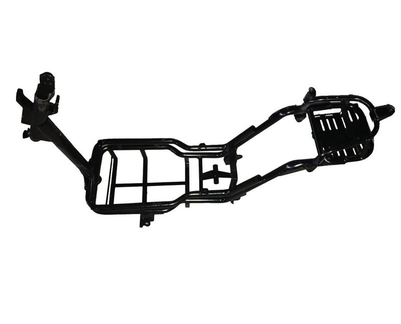 电动车车架喷塑