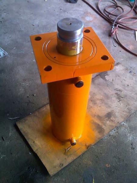 液压油缸的工作原理几乎都是相似的,拿一个手动千斤顶来图片