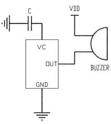 dc-07电磁式蜂鸣器专用驱动电路