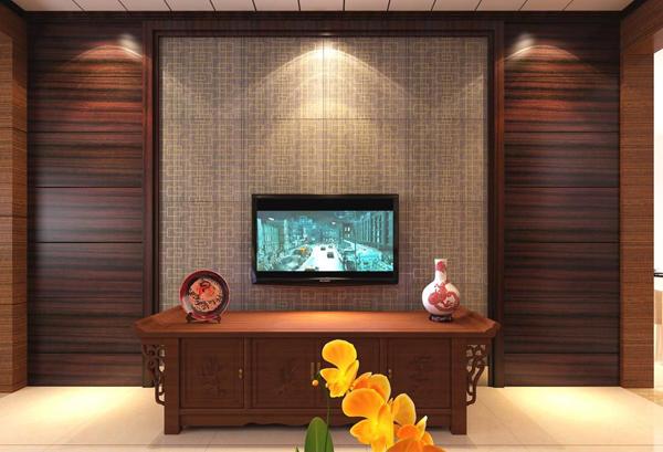 实木电视背景墙
