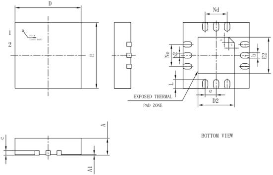 产品 蜂鸣器驱动芯片        应用电路1(单端应用)