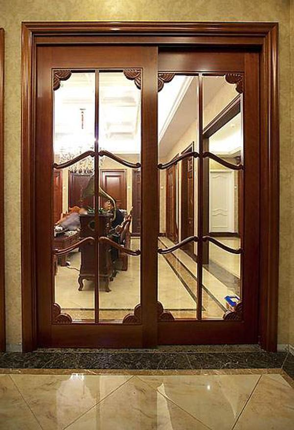 实木中式门