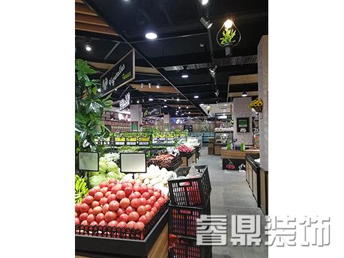 生鲜超市装修布局