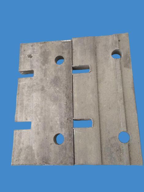 塑料磨粉机固定板