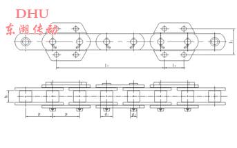 DT系列提升机链条