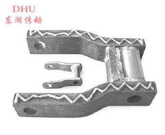 焊接弯板链