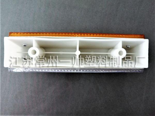 180x40-pvc矩形黄白双面轮廓标