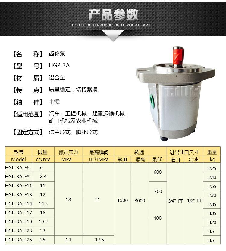 液压机高压油泵