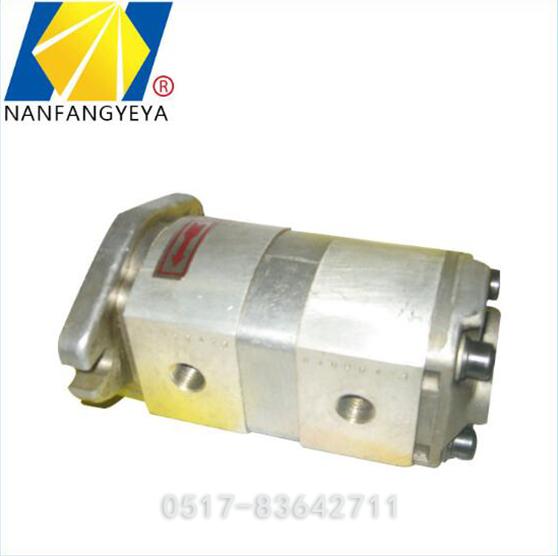 液压双联齿轮泵