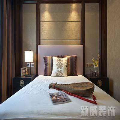 新中式卧室装修(2)