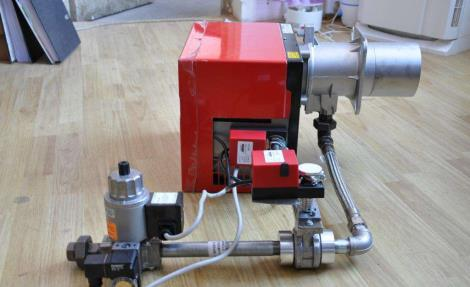 定型机燃烧器