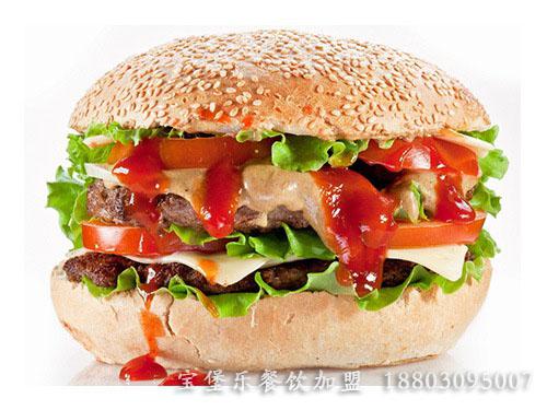 汉堡包连锁店加盟