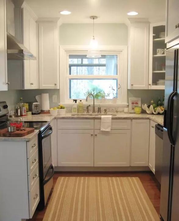 U型厨房装修设计