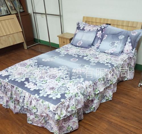 植物羊绒透气床单枕套