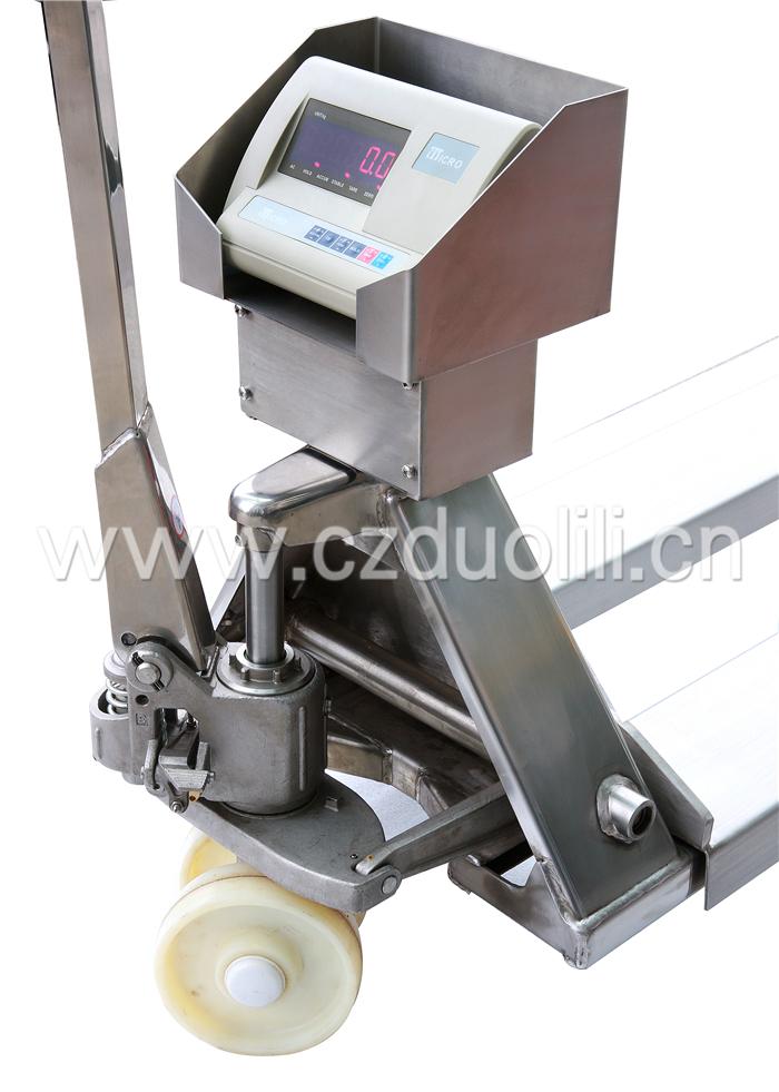 液压搬运车秤(不锈钢)