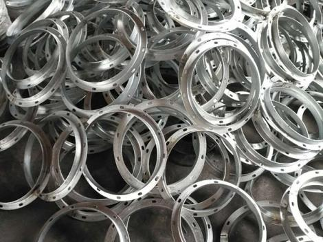 白银镀锌板制圆d8