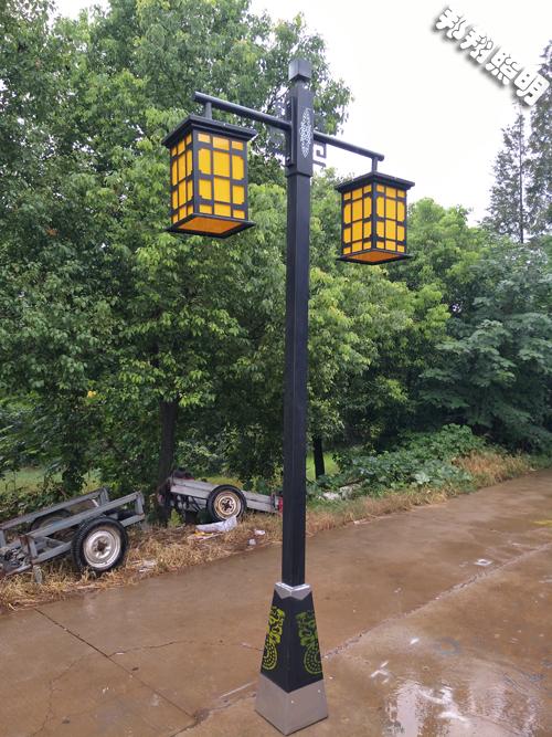 庭院灯加工