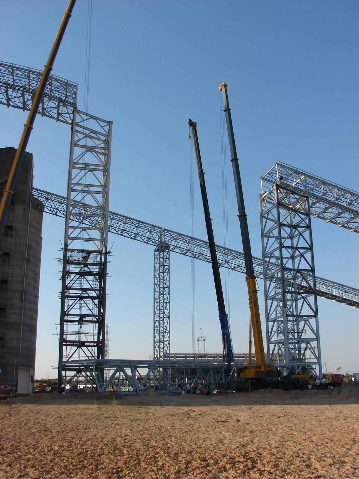 榆树湾煤矿栈桥