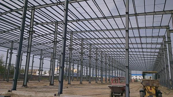 生产车间网架工程