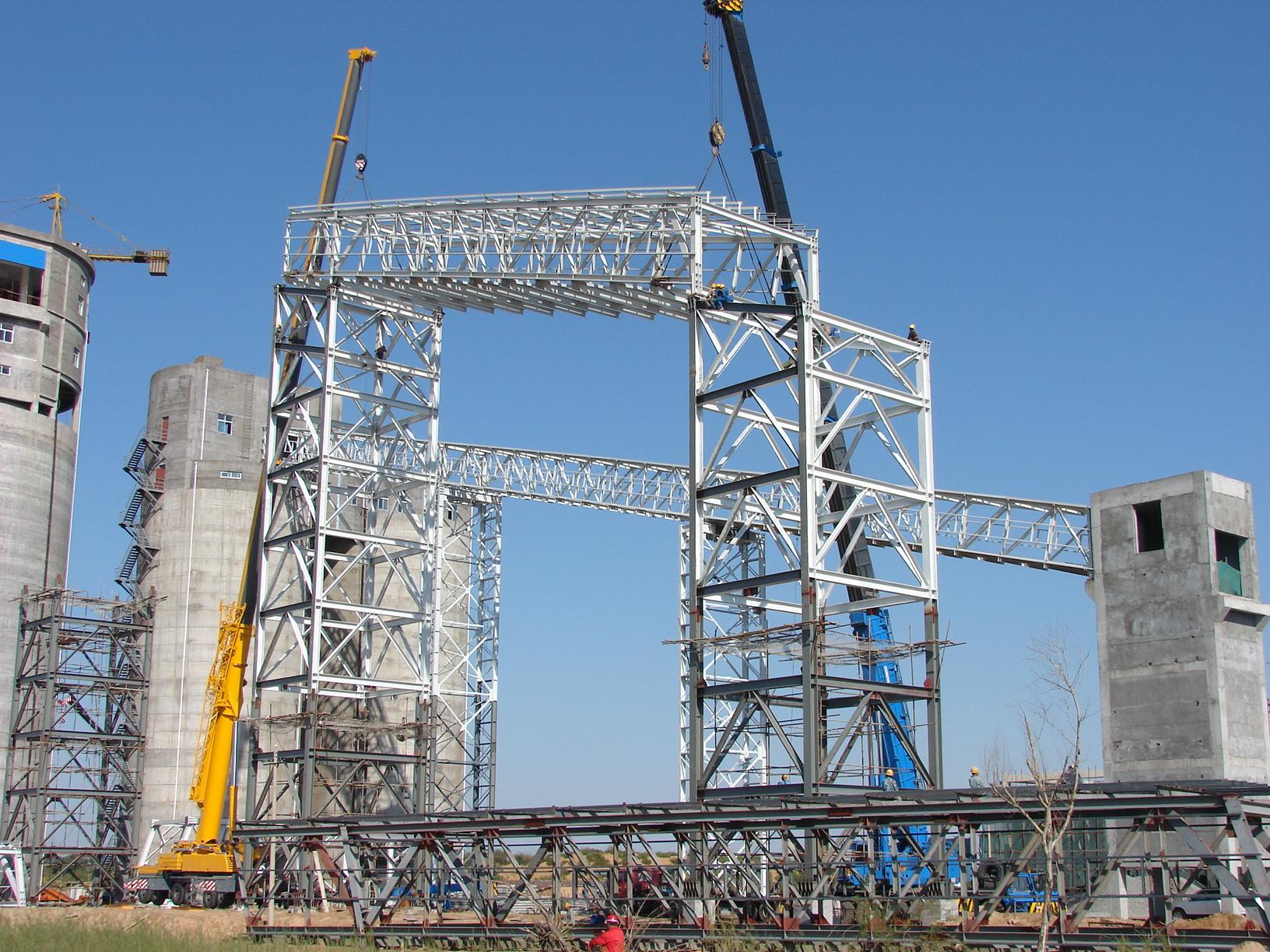 榆林榆树湾煤矿栈桥工程