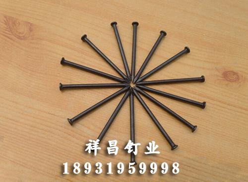 黑色水泥鋼釘