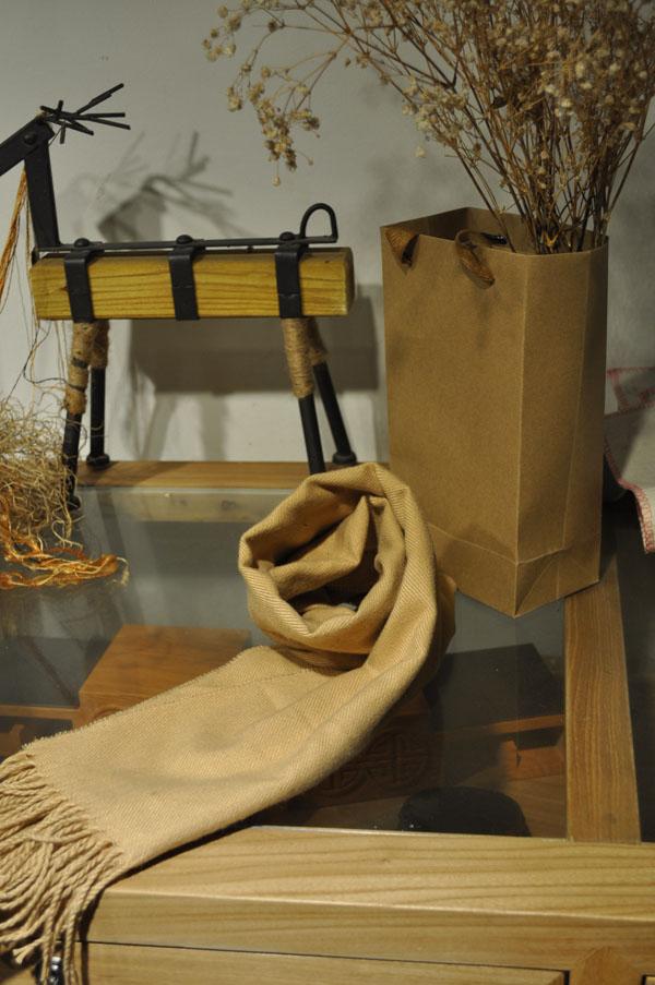 保暖仿羊绒围巾价格
