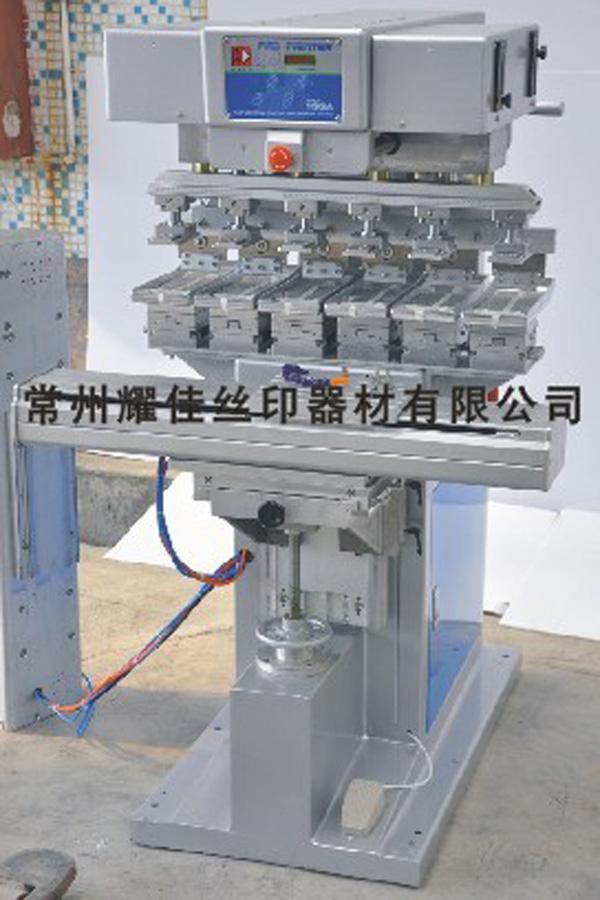 M6 S六色穿梭移印机