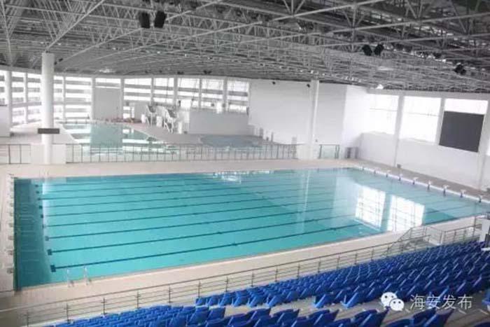 南通海安體育  (體育公園)工程、體育館、游泳館金屬屋面工程