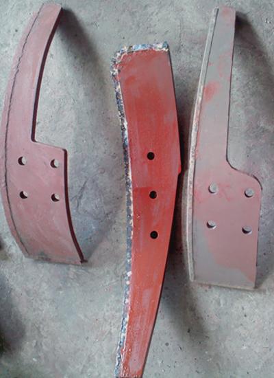 S114混砂机耐磨合金刮板