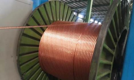 威海紫铜编织线