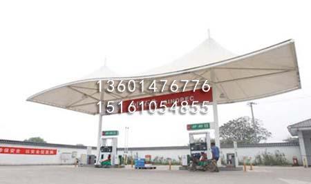 加油站膜结构罩棚