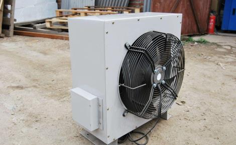 淄博蒸汽暖风机