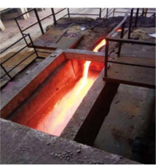 冲渣沟用陶瓷耐磨料