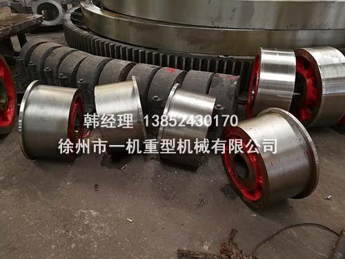 三筒烘干机托轮