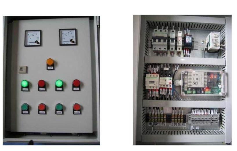 木工机械控制柜安装