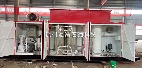 高压天然气分离、脱水、净化一体化设备