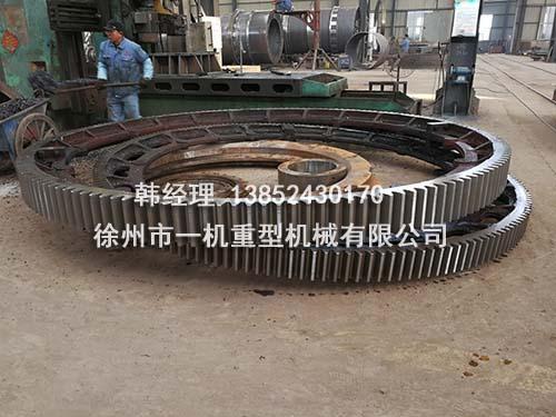 回转窑大齿轮在筒体上的安装的三种方式