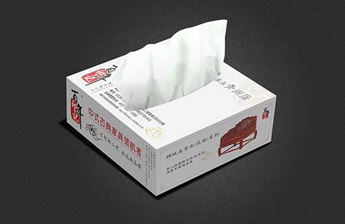 纸抽盒印刷设计