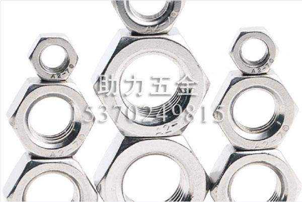 316不锈钢六角螺母DIN934