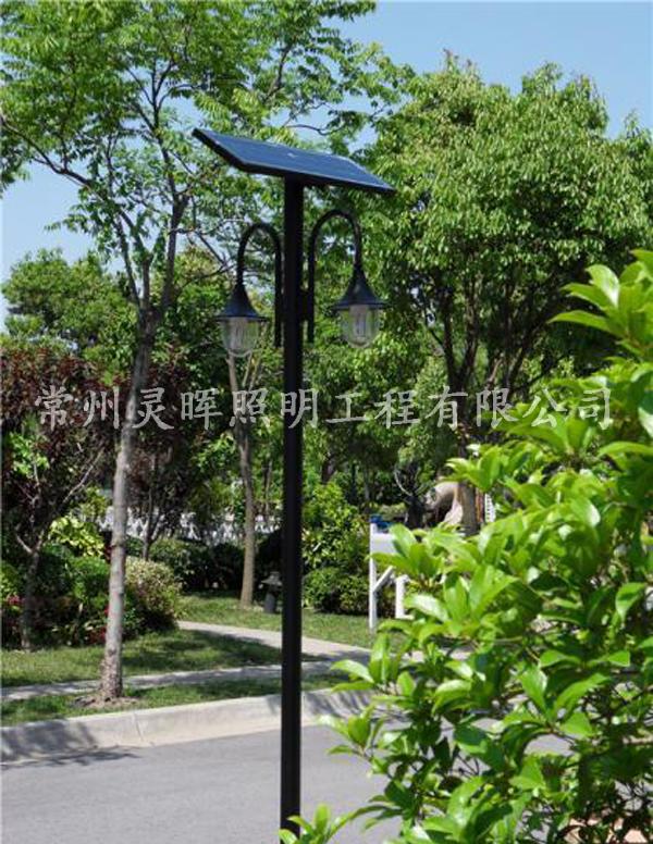 太阳能景区庭院灯