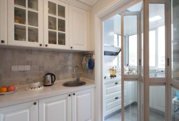 厨房折叠门