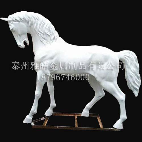 不锈钢动物雕塑摆件