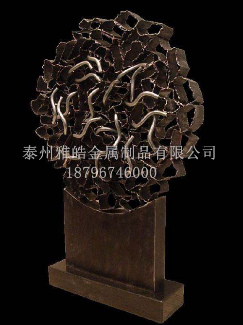 金属雕塑不锈钢工艺品