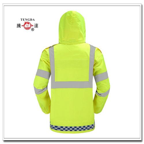 交通用反光雨衣