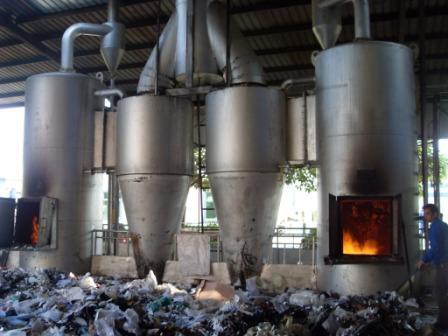 厨余垃圾焚烧炉