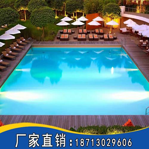 高端酒店游泳池施工