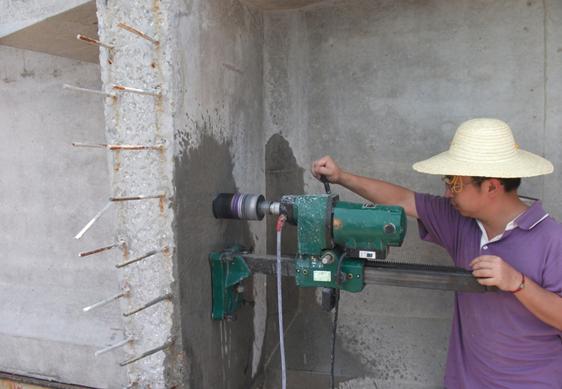 鉆芯法檢測混凝土強度